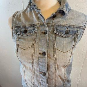 Xhilaration Jackets & Coats - Xhileration Denim Vest